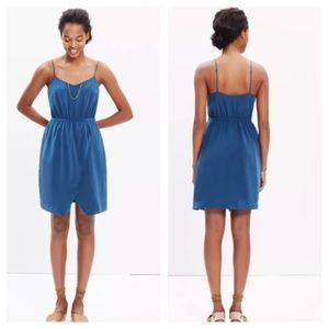 Madewell 100% silk dress